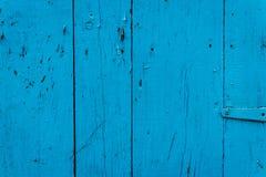 Textura de madera con los rasguños y las grietas Fotografía de archivo