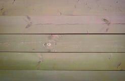 Textura de madera con los tablones horizontales Fotos de archivo libres de regalías