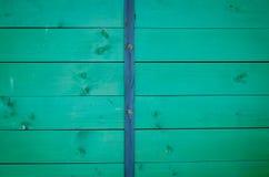 Textura de madera con los tablones horizontales Fotografía de archivo libre de regalías