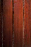 Textura de madera de Brown con el ornamento Foto de archivo