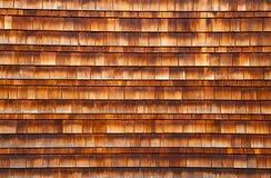 Textura de madera de la azotea Fotos de archivo libres de regalías