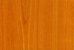 Textura de madera de la cereza de la cabaña del primer Foto de archivo libre de regalías