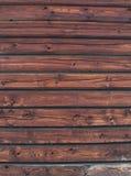 Textura de madera de la pared Imagen de archivo libre de regalías