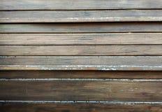 Textura de madera de la pared de Brown Foto de archivo