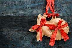 Textura de madera de la postal Imágenes de archivo libres de regalías