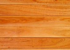 Textura de madera de la teca Foto de archivo