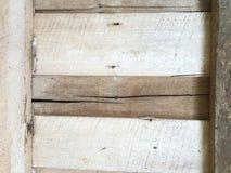 Textura de madera de la ventana Imagen de archivo