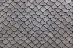 Textura de madera de las tejas de tejado Fotos de archivo