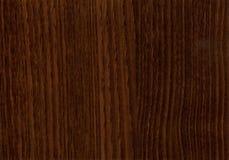 Textura de madera de Wenge de la castaña del primer Fotos de archivo