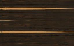 Textura de madera de Ziricote Imagenes de archivo