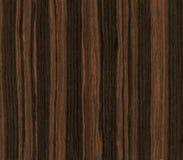 Textura de madera del ébano Imagenes de archivo