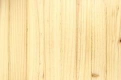 Textura de madera del fondo de Brown Fotografía de archivo libre de regalías