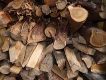 Textura de madera del fondo del extracto de la tienda Imagen de archivo