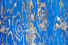 Textura de madera del fondo del granero azul viejo Foto de archivo libre de regalías