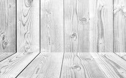 Textura de madera del fondo, en el color blanco Foto de archivo libre de regalías