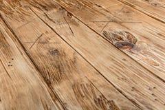 Textura de madera del fondo del escritorio con estilo de la edad Fotografía de archivo