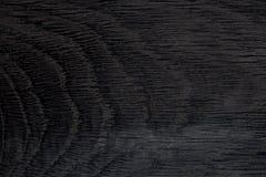 Textura de madera del fondo negro inconsútil Foto de archivo libre de regalías