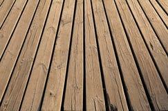 Textura de madera del fondo del panel en estilo del vintage Foto de archivo