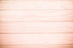 Textura de madera del marrón del tablón Foto de archivo