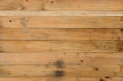 Textura de madera del marrón del tablón Imagenes de archivo
