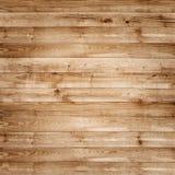 Textura de madera del marrón del tablón del pino para el fondo Fotografía de archivo