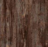 Textura de madera del marrón oscuro. Imagen de archivo
