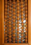 Textura de madera del modelo, parte de la puerta Imagen de archivo libre de regalías