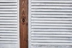 Textura de madera del obturador foto de archivo