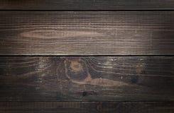 Textura de madera del panel del grunge del vintage de Brown vieja Foto de archivo libre de regalías