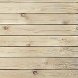 Textura de madera del pino con los nudos y las grietas Imágenes de archivo libres de regalías