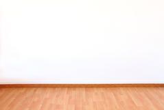 Textura de madera del piso en fondo del blanco del tono del color claro foto de archivo libre de regalías