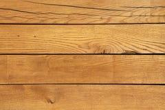 Textura de madera del revestimiento Foto de archivo