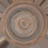 Textura de madera del tablón del círculo libre illustration