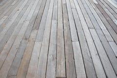 Textura de madera del tablón del piso Foto de archivo libre de regalías
