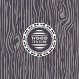 Textura de madera del vector stock de ilustración