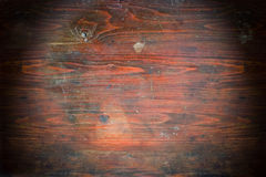 Textura de madera del viejo grunge Fotografía de archivo
