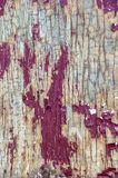 Textura de madera del viejo tablero pintado de la puerta blur foto de archivo