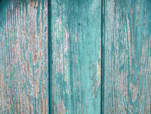Textura de madera del viejo verde del grunge Imagen de archivo