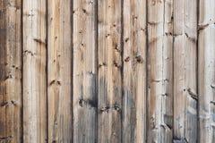 Textura de madera desnuda vertical de los tablones Imagenes de archivo
