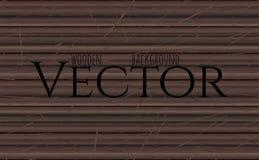 Textura de madera, ejemplo del vector Eps10 Ebony Wooden Background natural ilustración del vector
