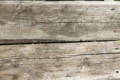 Textura de madera en el top Imágenes de archivo libres de regalías
