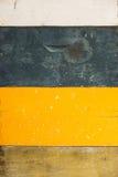 Textura de madera envejecida de la pintura en una superficie de madera Imagen de archivo