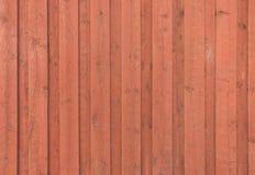 Textura de madera escandinava en 1 - textura - fondo falun-rojo y x28; ciudad vieja histórica de Porvoo, Finland& x29; Fotos de archivo