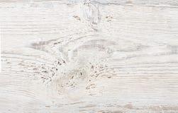 Textura de madera, fondo de madera blanco Foto de archivo libre de regalías