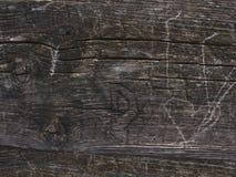 Textura de madera gris del grano del tablón Fibra vieja rayada del tablero de madera imagenes de archivo