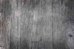 Textura de madera gris del tablón para el fondo Imagen de archivo libre de regalías