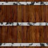 Textura de madera de la puerta en marrón fotos de archivo