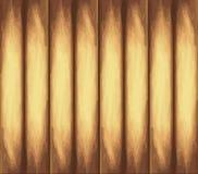Textura de madera ligera Fondo de oro de los tableros Vector EPS 10 ilustración del vector
