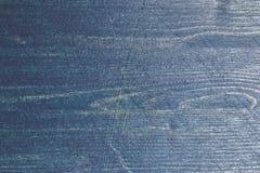Textura de madera de los azules marinos Fondo de madera azul marino Opinión del primer de la textura y del fondo de madera azules Fotografía de archivo libre de regalías