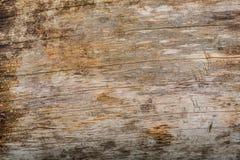 Textura de madera de los tablones de Wethered con la pintura rasguñada imagen de archivo libre de regalías